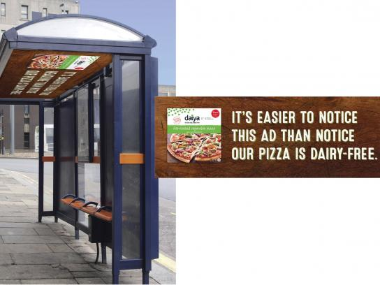 Daiya Foods Outdoor Ad -  Hard to notice, 2