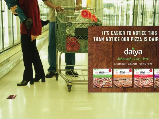 Daiya Foods Print Ad -  Hard to notice, 3