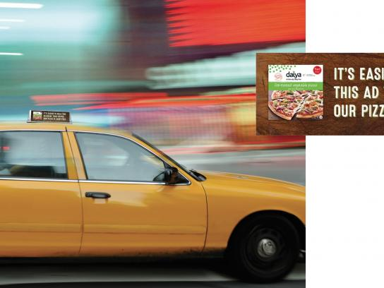 Daiya Foods Print Ad -  Hard to notice, 4