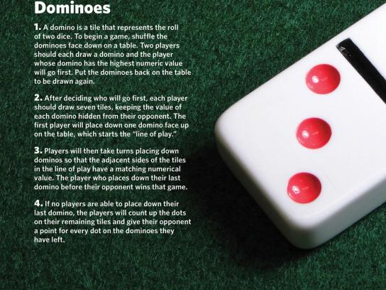 FirstBank Print Ad -  Dominoes