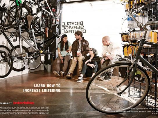 Interbike Print Ad -  Loitering