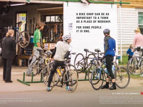 Interbike Print Ad -  Worship