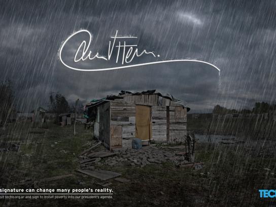 TECHO Print Ad -  Signature