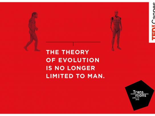 TEDxCannes Print Ad - Transitions, 4
