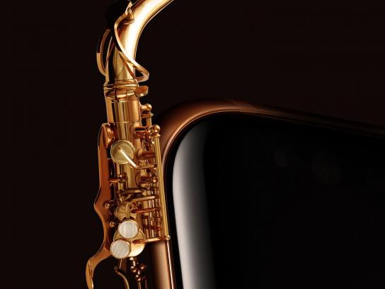 Samsung Print Ad - Musical Instruments, 3