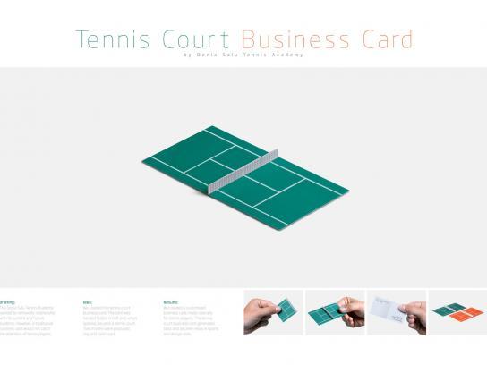 Denia Salu Direct Ad -  Business card