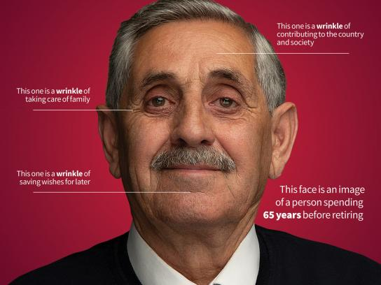 Kapital Bank Print Ad - With Respect To Our Retired People, 1