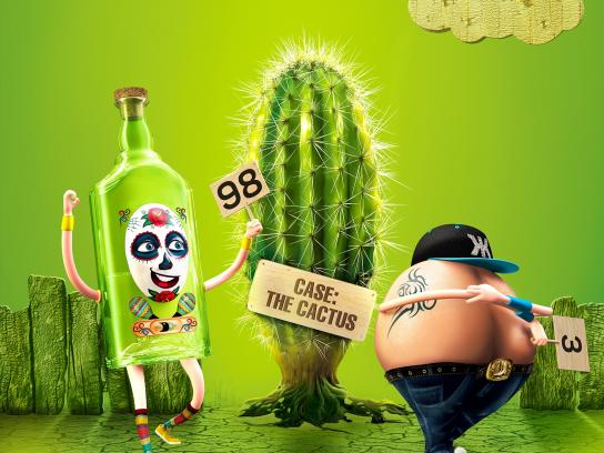 KIAF Print Ad - Cactus
