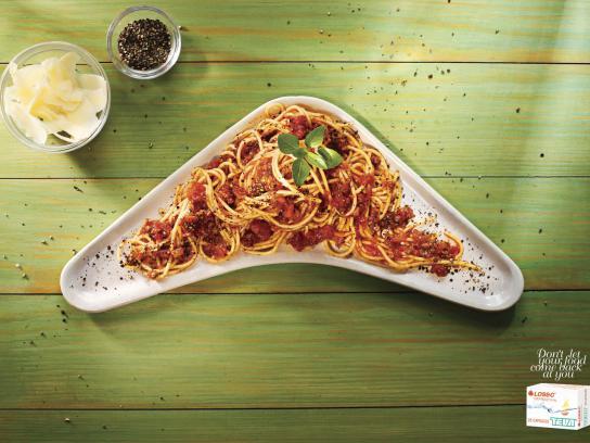 Losec Print Ad -  Spaghetti