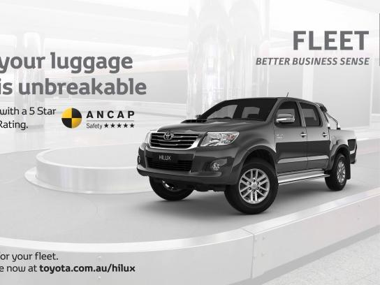 Toyota Outdoor Ad -  HiLux Carousel