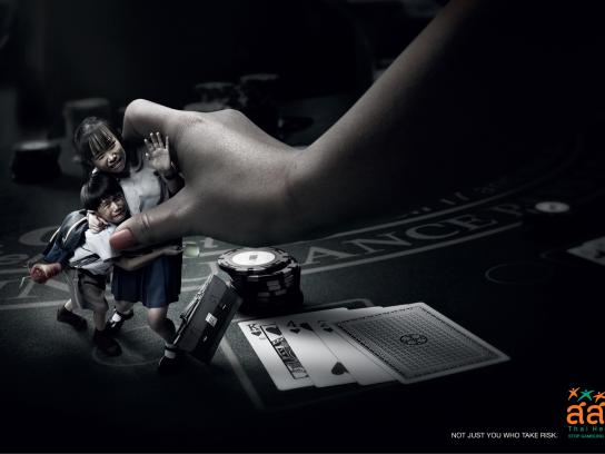 Thai Health Promotion Foundation Print Ad -  Poker