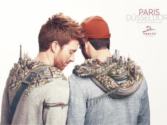 Thalys Print Ad -  Closer, 1