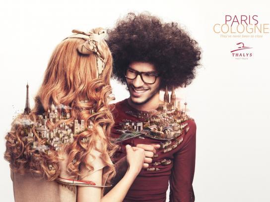 Thalys Print Ad -  Closer, 2