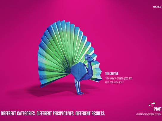 PIAF Print Ad -  The Creative
