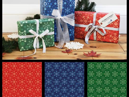 St Mungo's Direct Ad -  Infectious wrapping paper