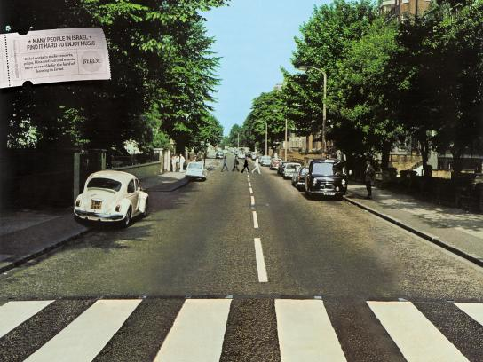 Bekol Print Ad -  Fading Beatles