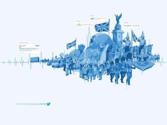 Twitter Print Ad -  The Birth Of The Royal Baby