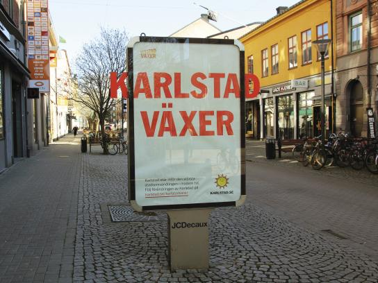 City Of Karlstad Outdoor Ad - City Of Karlstad Grows