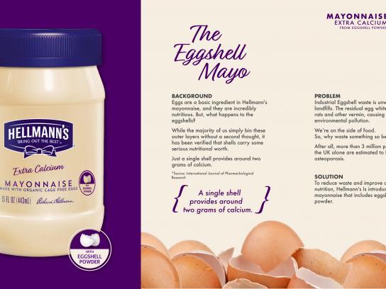 Hellmann's Print Ad -  The Eggshell Mayo