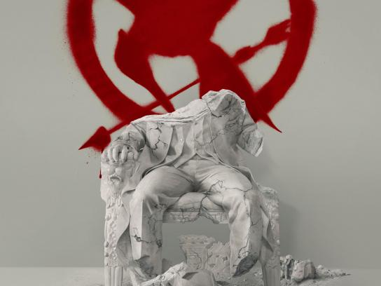 Hunger Games: Mockingjay Print Ad - Fallen Snow Poster