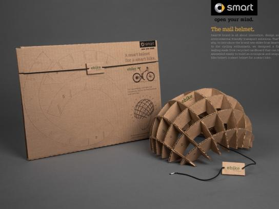 Smart Direct Ad -  The mail helmet