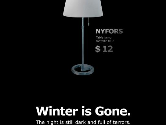 IKEA Print Ad - The Night is Dark