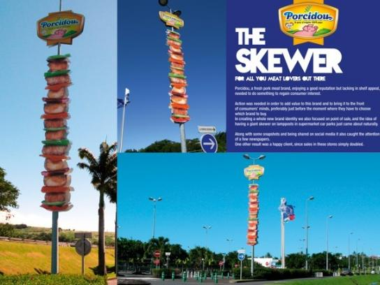 Porcidou Ambient Ad -  The Skewer
