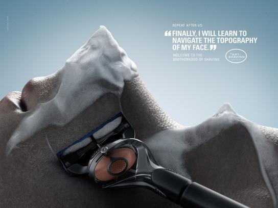 The Art of Shaving Print Ad -  Summit