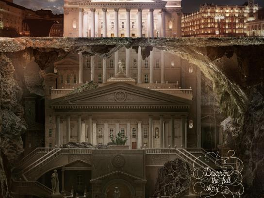 Schusev State Museum of Architecture Print Ad -  Bolshoi Theatre