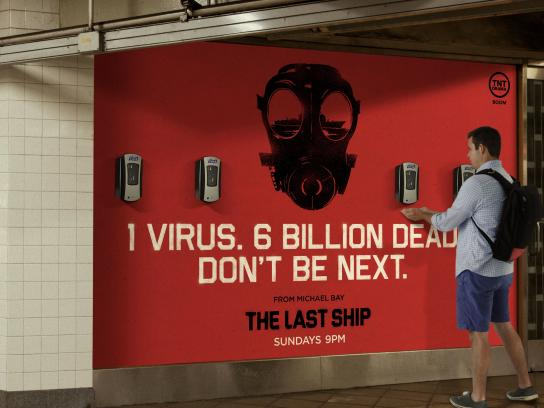 Purell Outdoor Ad -  The Last Ship, Dispensers