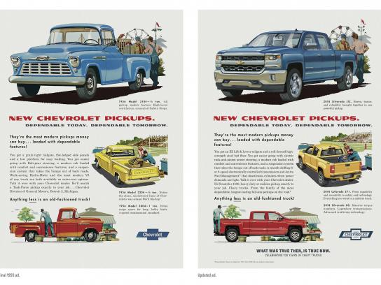 Chevrolet Print Ad - Then/Now - 1