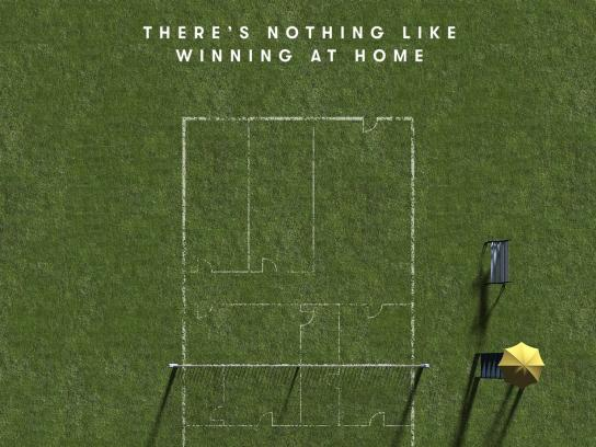 Vanguard Properties Print Ad - There's Nothing Like Winning At Home
