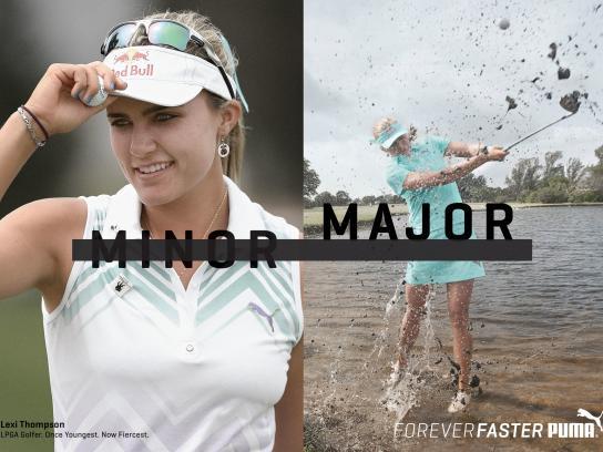 Puma Print Ad -  Forever Faster - Thompson