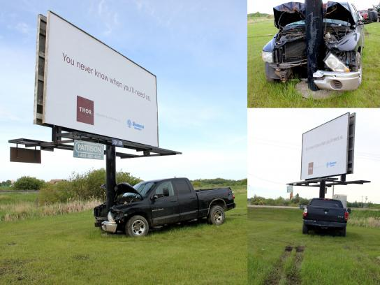 THOR Outdoor Ad - You never know