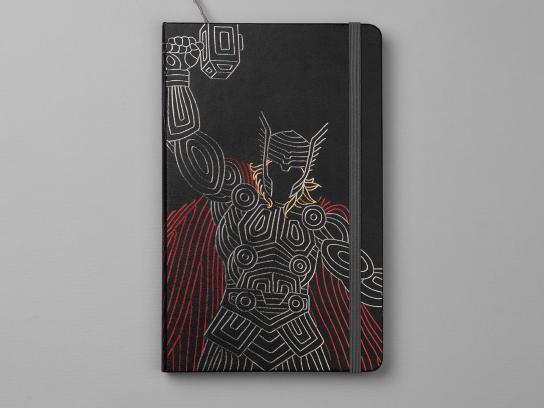 Moleskine Design Ad - Thor