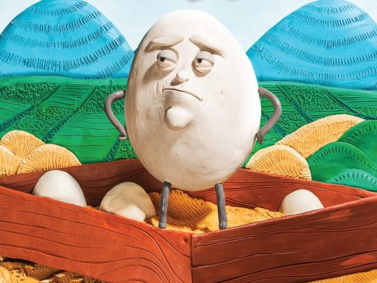 Turkish Cargo Print Ad -  Egg