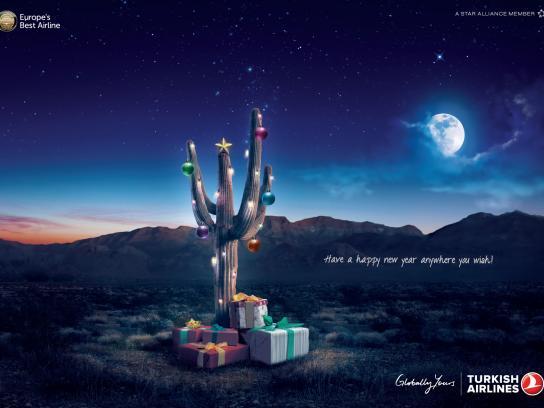 Turkish Airlines Print Ad -  Desert