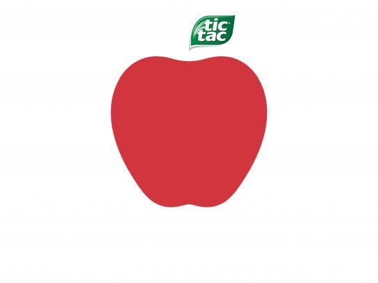 Tic Tac Print Ad - Apple