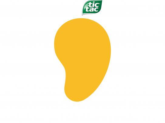 Tic Tac Print Ad - Mango