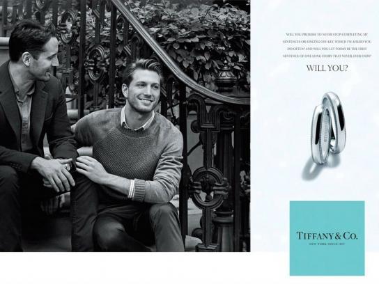 Tiffany & Co. Print Ad -  Will you