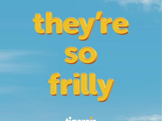 Tigerair Outdoor Ad -  Frills
