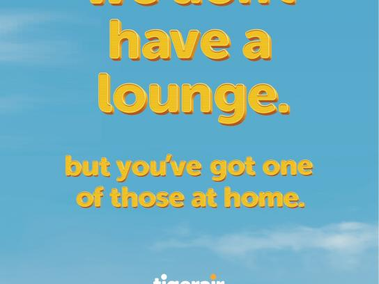 Tigerair Outdoor Ad -  Lounge