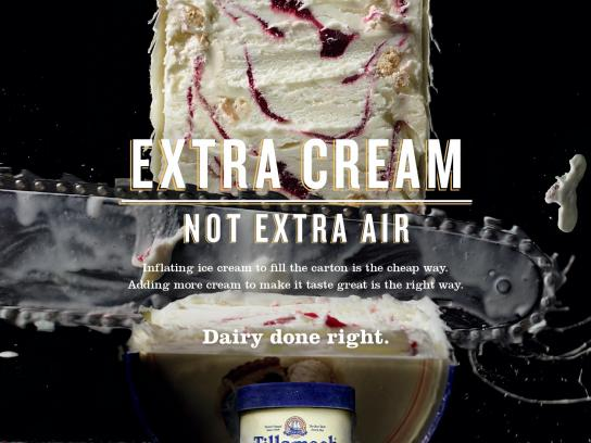 Tillamook Print Ad -  Not extra air