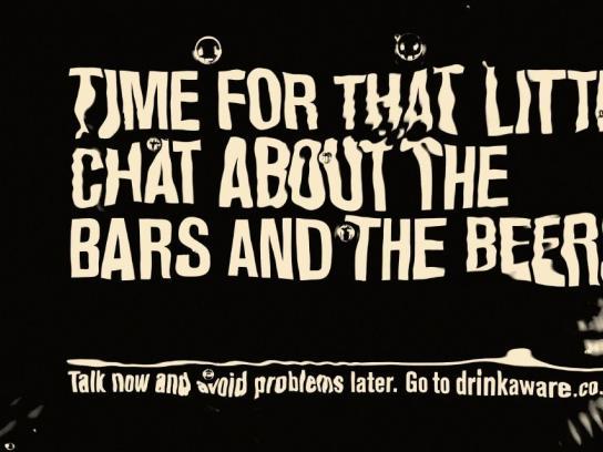 Drinkaware Print Ad -  Time