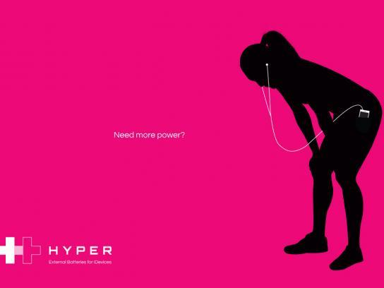 Hyper Print Ad -  Magenta