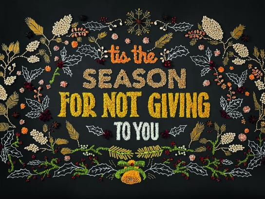 FoodForward Print Ad - This the season