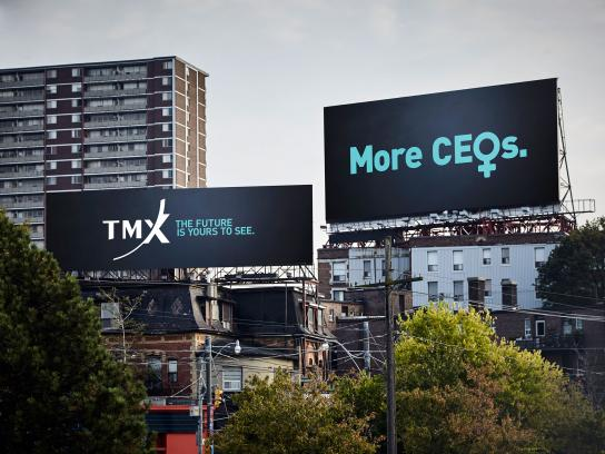 TMX Group Outdoor Ad - The Future is Yours to See - Billboard
