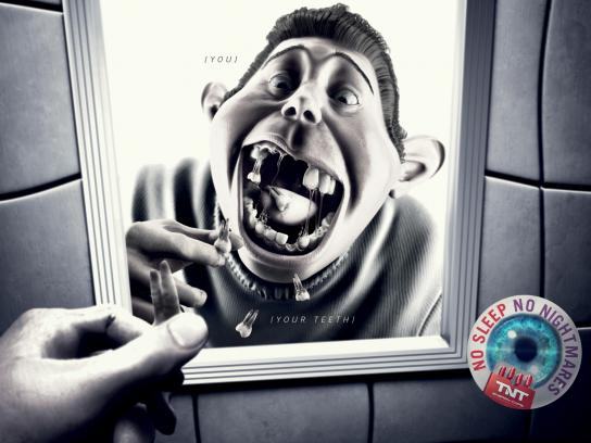 TNT Energy Drink Print Ad -  Teeth