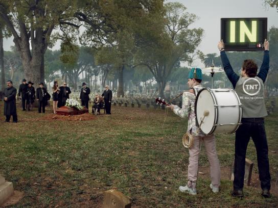 TNT Print Ad -  Funeral