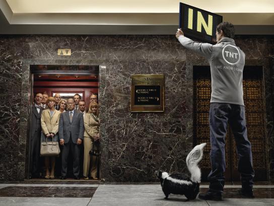 TNT Print Ad -  Elevator
